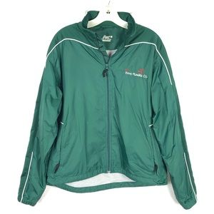 ASICS Green Long Sleeve Semi-Fitted Running Jacket